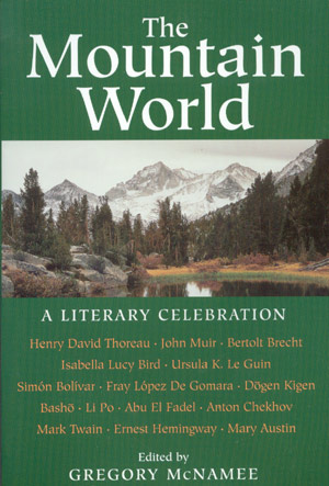 The Mountain World. A literary celebration