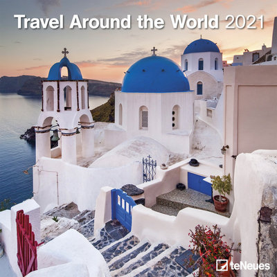 Calendario travel around the world 2021