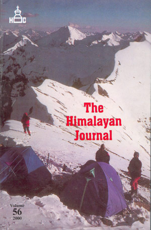 The Himalayan Journal 2000 Vol. 56