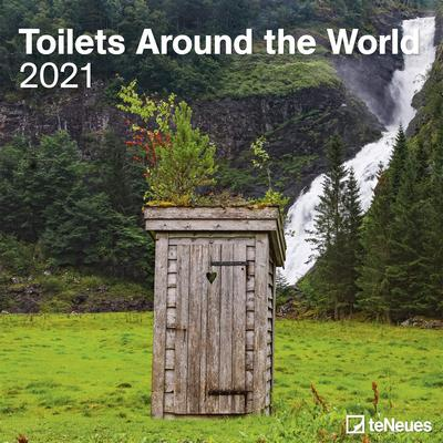 Calendario toilets around the world 2021