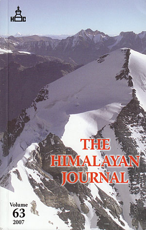 The Himalayan Journal 2007 Vol. 63