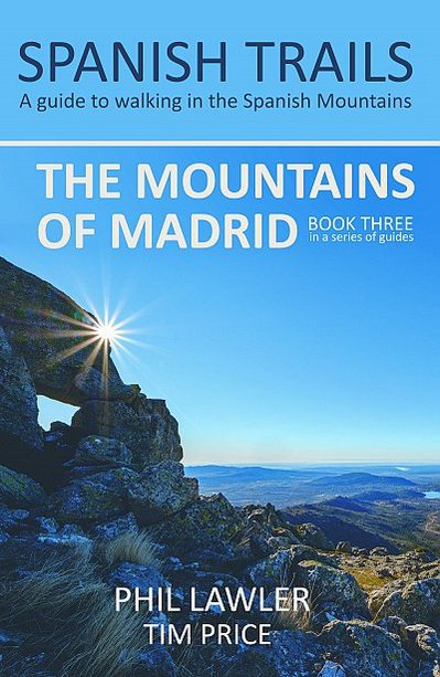 The mountains of Madrid Spanish Trails