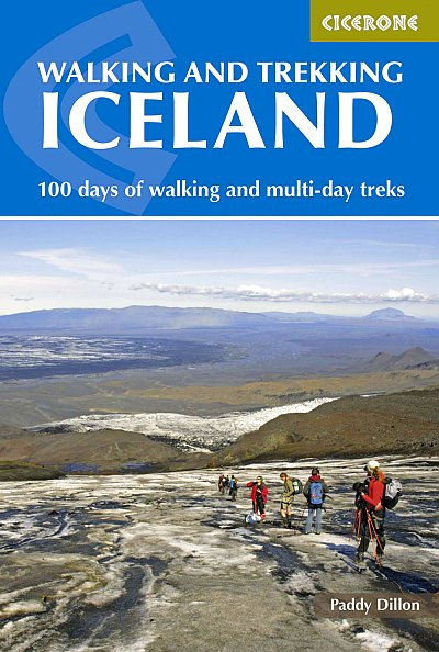 Walking and trekking Iceland  100 days of walking and multi-day treks