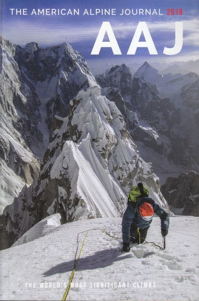The American Alpine Journal 2016