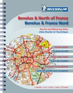 Benelux & North France. Tourist and motoring atlas