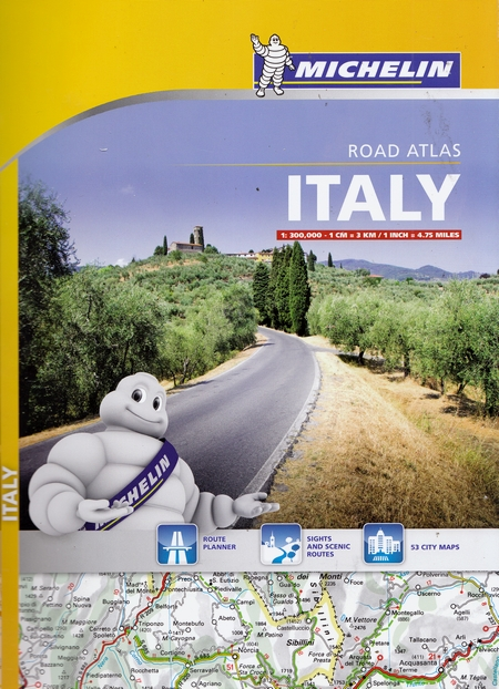 Italy. Road atlas
