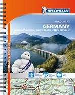 Road Atlas. Germany, Benelux, Austria, Swizerland, Czech Republic