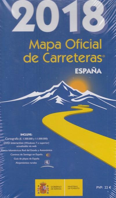 Mapa Carreteras España 2018.Libreria Desnivel Mapa Oficial De Carreteras De Espana