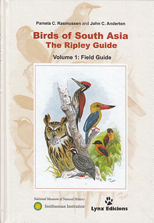 Birds of south Asia. The Ripley Guide