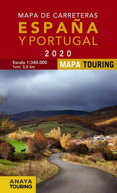 Libreria Desnivel Mapa De Carreteras Espana Y Portugal 2020 Vv