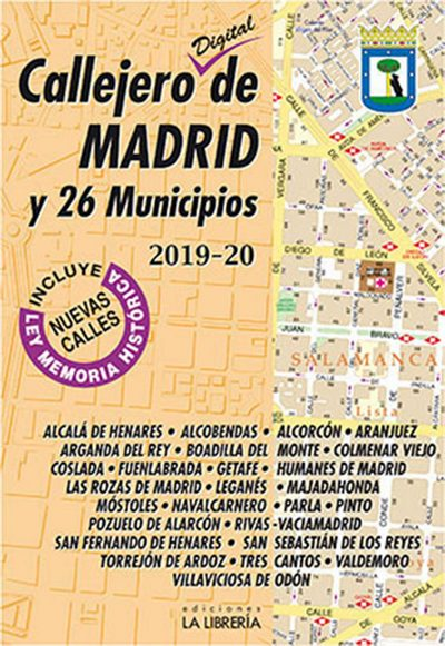 Callejero digital de Madrid y 26 municipios (2019-20)