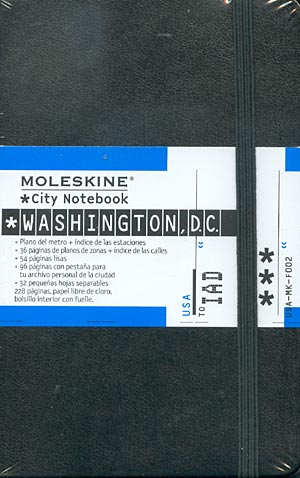Washington. (Moleskine)