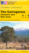 The Cairngorms. Aviemore and Glen Avon