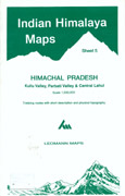 Indian Himalaya (sheet 5) Himachal Pradesh