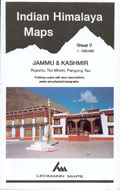 Indian Himalaya ( sheet 9 ) Jammu & Kashmir
