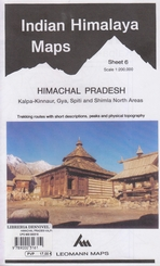 Indian Himalaya ( sheet 6 ) Himachal Pradesh