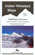 Indian Himalaya ( sheet 7 ) Garhwal (Uttaranchal)