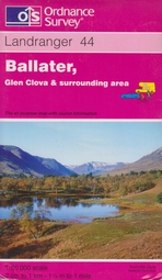 44 Ballater, Glen Clova & surrounding  area