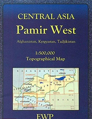 Central Asia. Pamir West