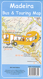 Madeira. Bus & touring map