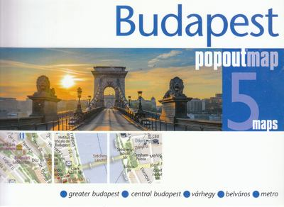 Budapest (Popout map)