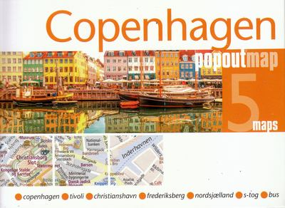 Copenhague (Popout map)