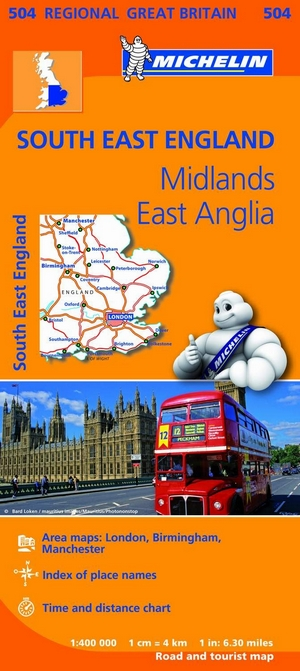 504 South East England, Midlands, East Anglia