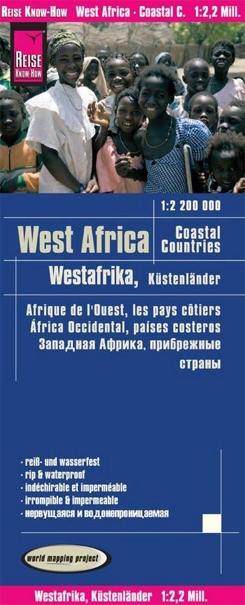 West Africa. Coastal countries