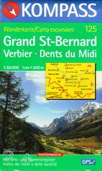 125 Grand St - Bernard. Verbier. Dents du Midi