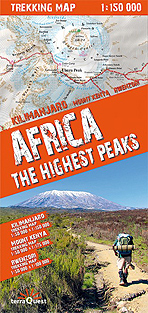 Africa. The highest peaks