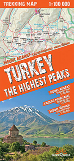 Turkey. The highest peaks