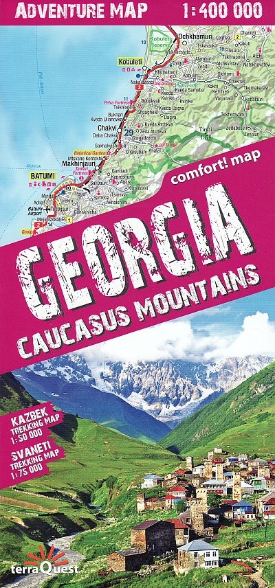 Georgia. Caucasus mountains