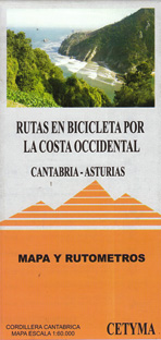 Rutas en bicicleta por la Costa Occidental. Cantabria-Asturias
