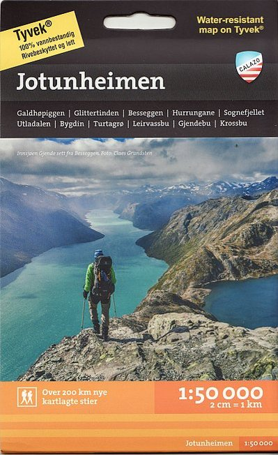 Jotunheimen Hiking Map