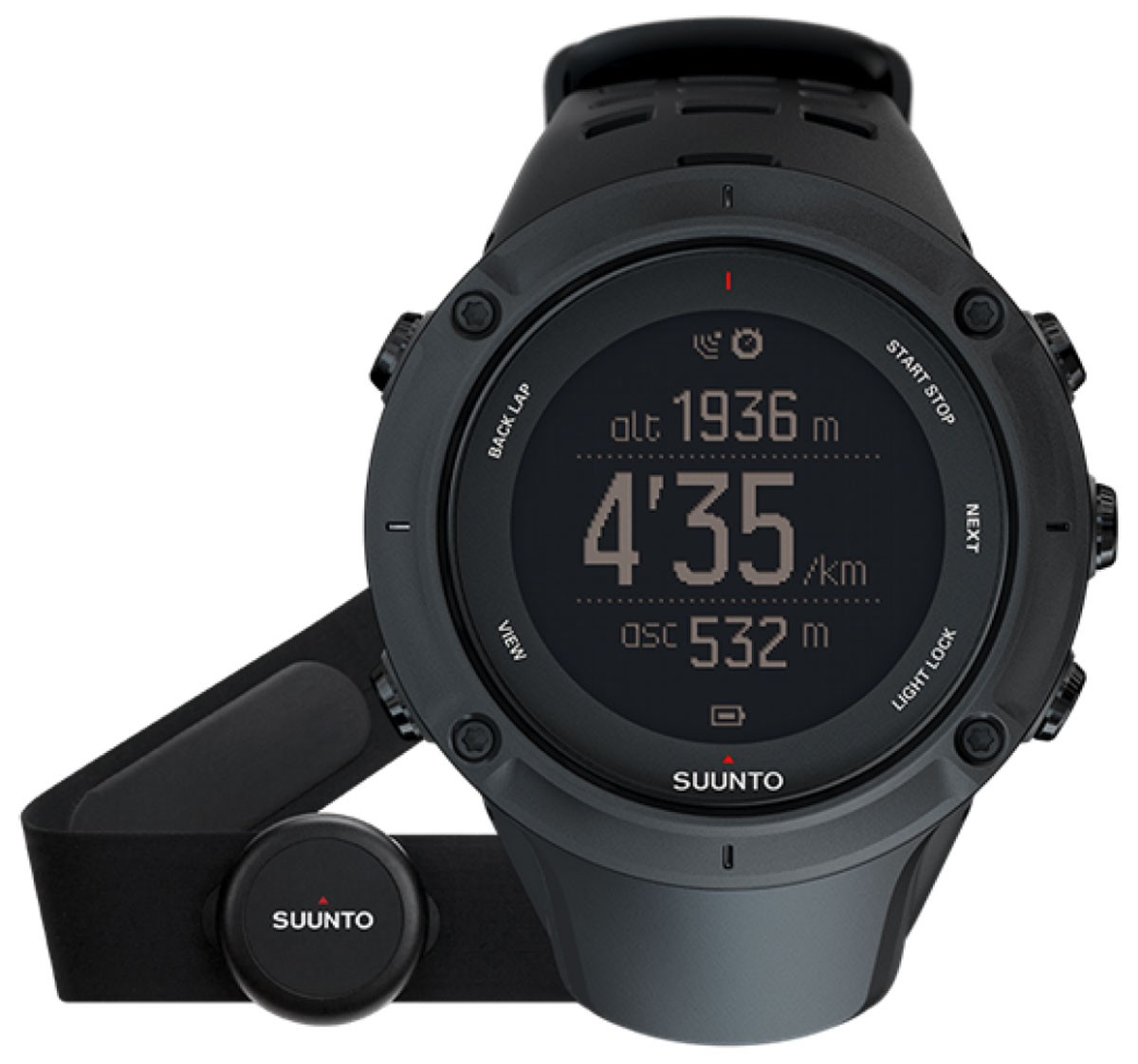 Suunto Ambit3 Peak Black (HR)