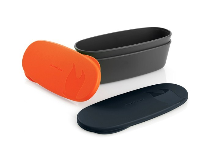 Snap box oval (2-pack)