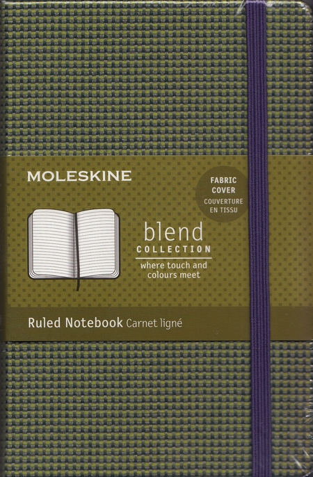 "Moleskine. Cuaderno de notas a rayas ""Blend Collection"""