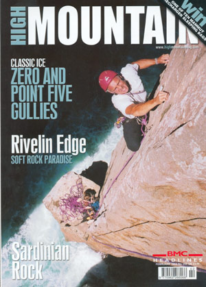 High Mountain: Zero and point five gullies